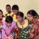 children stage drama festival