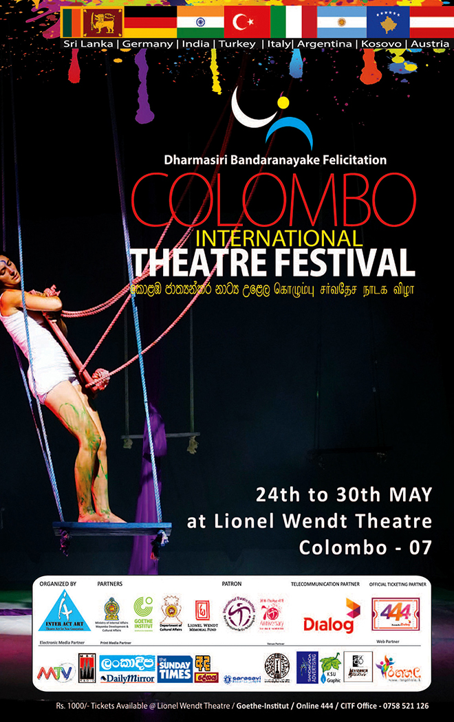 COLOMBO INTERNATIONAL THEATER FESTIVAL – 2018